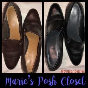 Black or Brown Leather Shoes